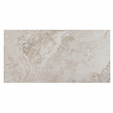 Tarsus Gray Polished Porcelain Tile 12in X 24in