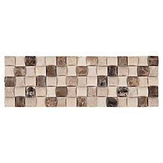 Navka Marble Mosaic Border 4in X 12in Floor And Decor