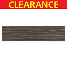 Clearance! Stela Nero Plank Porcelain Tile