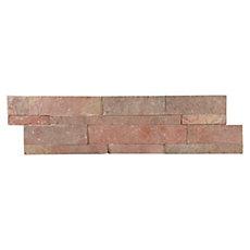 Copper Split Face Quartzite Panel Ledger