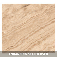 Caramelo Light Travertine Tile