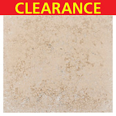 Clearance! Antique Monza Honed and Filled Travertine Tile