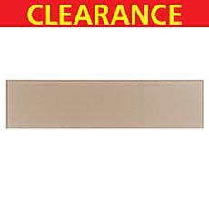 Clearance! Pure Tan Glass Tile