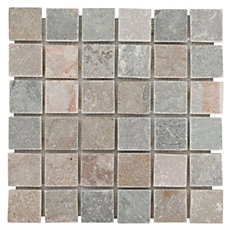 Andes Square Slate Mosaic