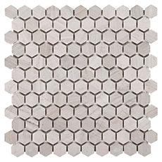 Valentino White Mix Marble Mosaic