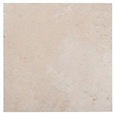 Mediterranean Antique White Porcelain Tile