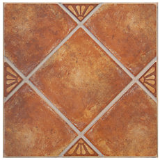 Real De Catorce Terracotta Ceramic Tile