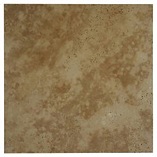 Antique Capri Brushed Travertine Tile