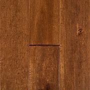 Wheat Birch Hand Scraped Solid Hardwood Floor And Decor