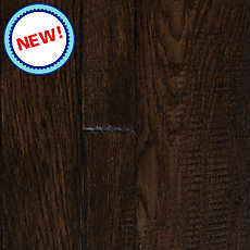 New! Potomac Oak Hand Scraped Random Width Solid Hardwood