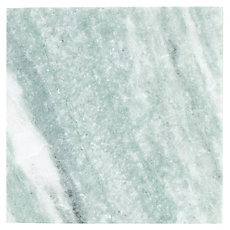Caribbean Green Brushed Marble Tile