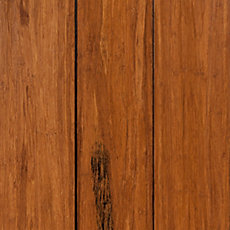 Eco Forest Patina Hand Scraped Solid Stranded Bamboo