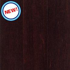 New! Dark Cherry Stranded Locking Engineered Bamboo