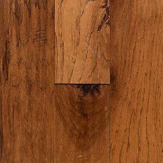 Honey Hickory Hand Scraped Tongue and Groove Engineered Hardwood