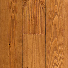 Honey Pine Wirebrushed Solid Hardwood
