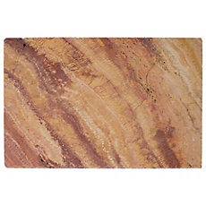 Sedona Brushed Unfinished Travertine Tile