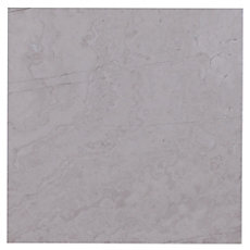 Valentino White Crosscut Marble Tile