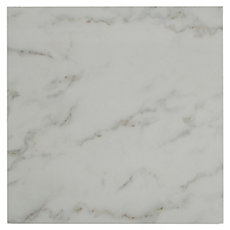 Carrara White High Gloss Ceramic Tile