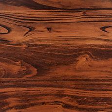 Brazilian Tigerwood Wide Board Countertop 8ft.