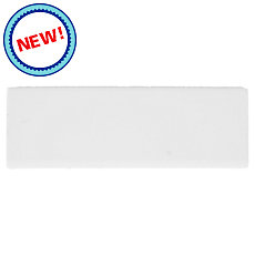 New! Bright White ice Ceramic Bullnose