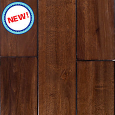 New! Mocha Birch Solid Hardwood