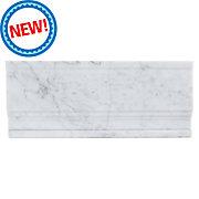 Bianco Carrara Marble Base Molding