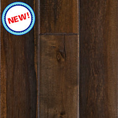 New! Cyrus Brown Birch Solid Hardwood