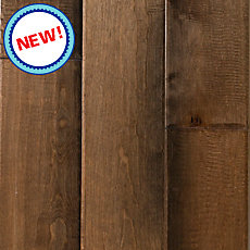 New! Tawny Birch Hand Scraped Solid Hardwood