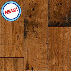 New! Amber Oak Solid Hardwood