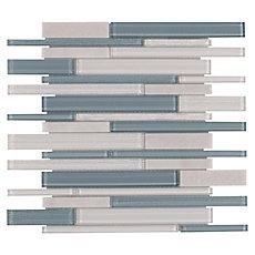 Biscayne Linear Glass Mosaic