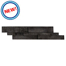 New! Durham Black Brick Panel