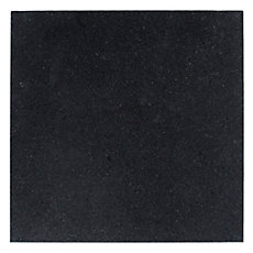 Black Galaxy Honed Granite Tile