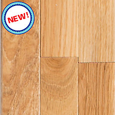 New! Natural White Oak Solid Hardwood