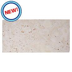New! Semi Polished Coral Stone Tile