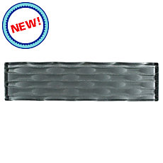 New! Black Pearl Ellipse Glass Wall Tile
