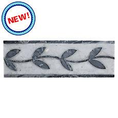 New! Ivy Carrara Marble Border