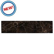 New! Dark Emperador Polished Marble Tile