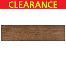 Clearance! Teton Wister White Body Wood Plank Ceramic Tile
