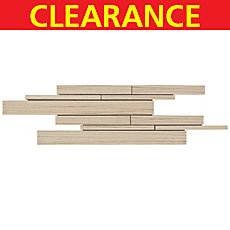 Clearance! Runway Sand Stick Porcelain Mosaic