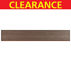 Clearance! Tango Brown Porcelain Bullnose