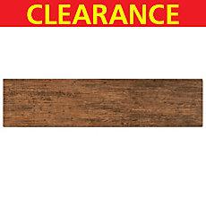 Clearance! Anticho Pecan Wood Plank Porcelain Tile