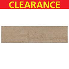 Clearance! Veranda Alpine Wood Plank Porcelain Tile