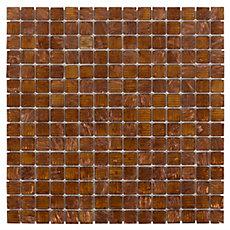 Art Copper Mix Glass Mosaic
