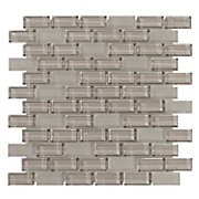 Pure Wool Mix Brick Glass Mosaic