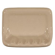 Bone Ceramic Soap Dish 4in X 6in Floor And Decor
