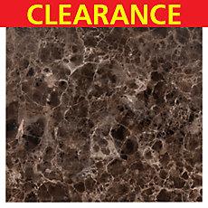 Clearance! Dark Emperador Premium Marble Tile