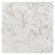 Argento Tumbled Travertine Tile