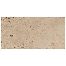 Mediterranean Rustic Brushed Unfilled Travertine Tile