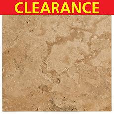 Clearance! Venato Polished Travertine Tile