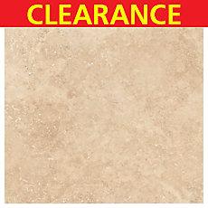 Clearance! Light Walnut Travertine Tile